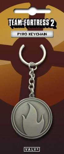 Valve Team Fortress 2 Pyro Keychain
