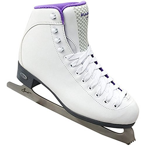 Riedell 118 Sparkle Figure Skates With Spiral Blades (Ladies 7.0