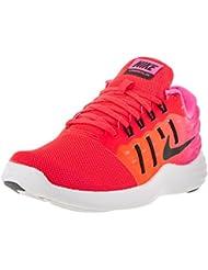 Nike Womens Lunarstelos Brght Crmsn/Blk Pnk Blst White Running Shoe 8.5 Women US