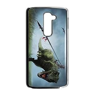 Creative Dinosaur Big Mouth Custom Protective Hard Phone Cae For LG G2