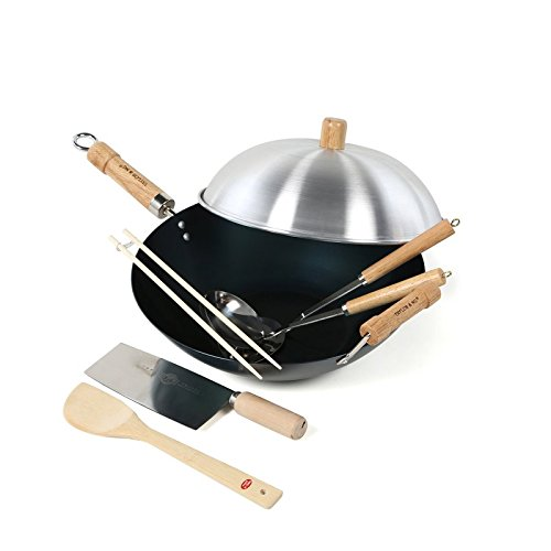Taylor & Ng Natural Nonstick Woks 12157 Set, 14
