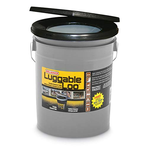 Reliance Products Luggable Loo Portable 5 Gallon Toilet ()