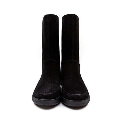 Boots FF2™ Fitflop Black Lux™ Womens GOGOBOOT Brown Mid FF 0R0wxT5qO