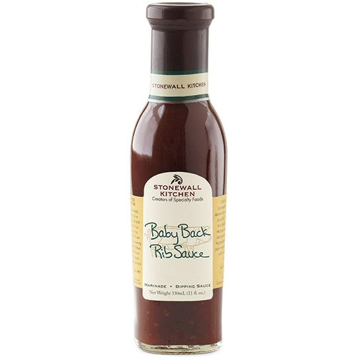 Stonewall Kitchen Baby Back Rib Sauce, 11 Ounce