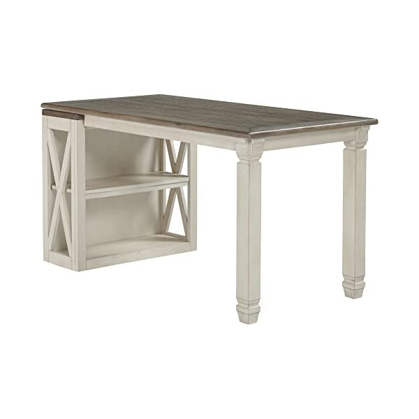 Ashley Furniture Signature Design - Bolanburg Half Desk - Half Desk Only - Two-Tone