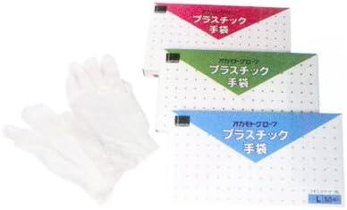 オカモト プラスチックグローブ(50枚入) M
