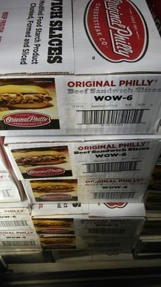 Original Philly Beef Sandwich Slices 10 Lb Buy Online