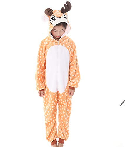 RECM Elk Cosplay Ideas Baby 2018 Halloween Costumes for Girls Boys Pajamas 85 -