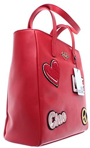 Bandouliere Femme Nouveau Love Main Rosso Sac Borsa Moschino Jc4081pp17lj0500 Pu xAw4Unw7qC