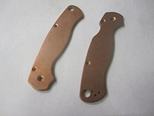 Flytanium FLY-68 Antique Stonewash Finish Copper Paramilitary-2 Handle Scales For Sale