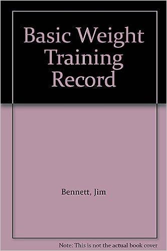 Basic Weight Training Record