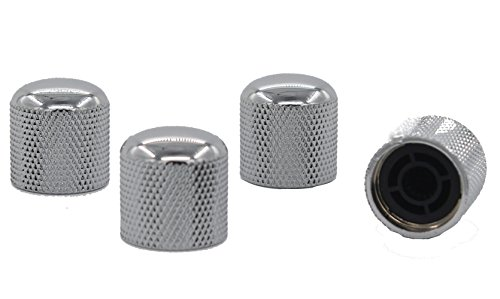 guitar control knobs chrome - 2