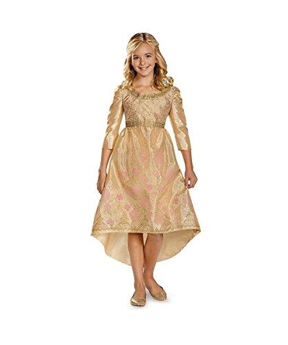 [Aurora Coronation Gown Costume - Medium] (Maleficent Halloween Costumes For Girl)