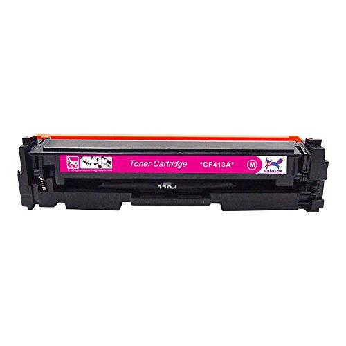 HaloFox 1 Set Toner Cartridges Compatible For 410A Toner CF410A CF411A CF412A CF413A For Color LaserJet Pro M452nw M452dw M452dn MFP M477fdn M477fnw M477fdw Printer (4Pcs, Black Cyan Yellow Magenta) Photo #5
