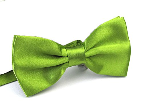 Sunny Ocean Pre Tied Bow Ties for Men Classic Green Tuxedo Bowtie Green