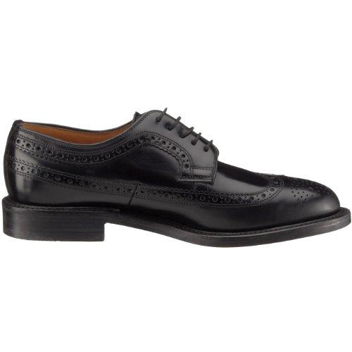 Black Scarpe Nero Leather Polished uomo classiche Royal Loake XOxFpqRa