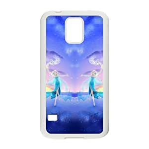DAZHAHUI Frozen Snow Queen Princess Elsa Cell Phone Case for Samsung Galaxy S5