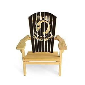 Slick Woody's POW-MIA Adirondack Chair