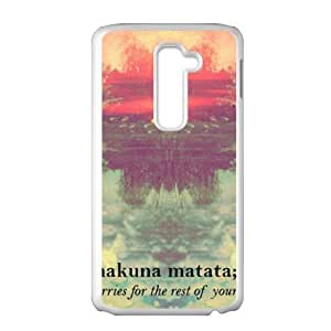 Hakuna Matata Cell Phone Case for LG G2