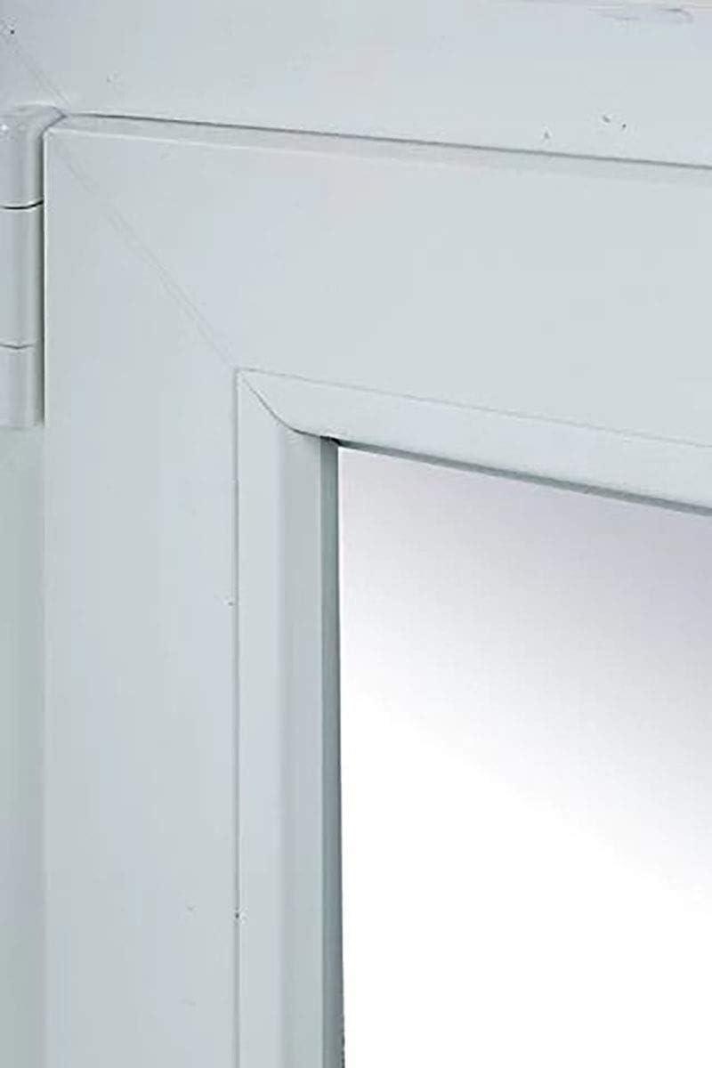 TermProtect | Ventana PVC 80 cm x 100 cm | REGALO Garras de fijación | Oscilobatiente | Alto aislamiento termico y acustico | Practicable | Resistente al sol e humedad | Apertura Izquierda: Amazon.es: Bricolaje y herramientas