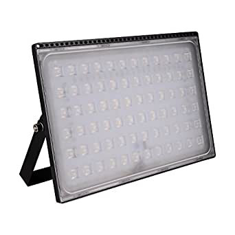 Coolkun LED Flood Lights,Super Bright Work Lights,Warm White Outdoor and Indoor IP65 Waterproof Security Light for Garage, Garden, Lawn and Yard (500W Ultra-thin)