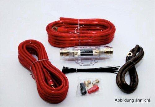 AMP-Kit mit Powerkabeln Hama Anschluss-Set f/ür Car Hifi-Verst/ärker 35 mm/² , Cinchkabel, Sicherungshalter, Sicherung, Gabelkabelschuhen und Kabelbinder