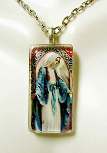 Glasses 393 (Miraculous Medal glass pendant - GP12-393)