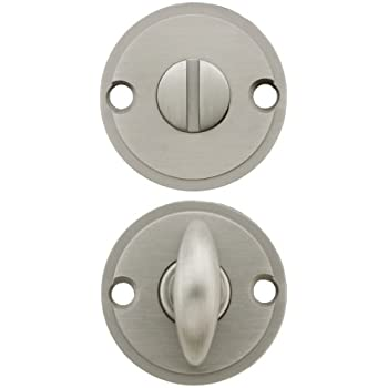 Thumbturn Privacy Door Bolt In Satin Nickel Door Lock