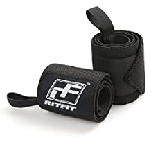 New Year Deal - Wrist Wraps by RitFit - 22'' Professional Grade With Thumb Loops - Wrist Support Braces for Men & Women - Weight Lifting, Xfit, Powerlifting, Strength Training