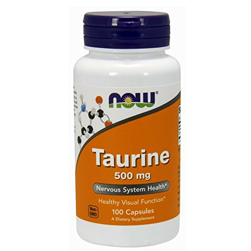 NOW Taurine 500 mg,100 Capsules