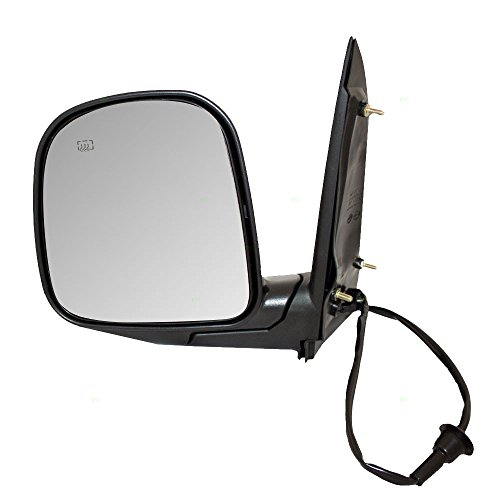 Drivers Power Side View Mirror Sail Mounted Heated Replacement for Chevrolet Express GMC Savana Van 15768768 AutoAndArt
