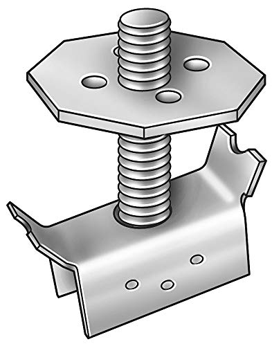 Grating Fasteners Carbon Steel Grating Clip; PK20 - GM-1/2 X 3 by Grating Fasteners