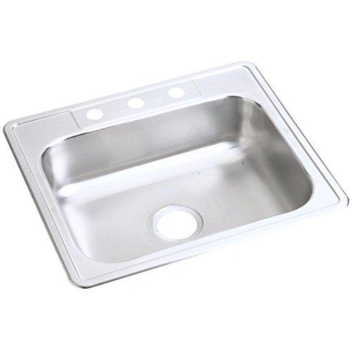 Dayton D125213 Single Bowl Top Mount Stainless Steel Sink