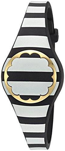 41LcM4Syk6L - kate spade new york black and white stripe scallop activity tracker