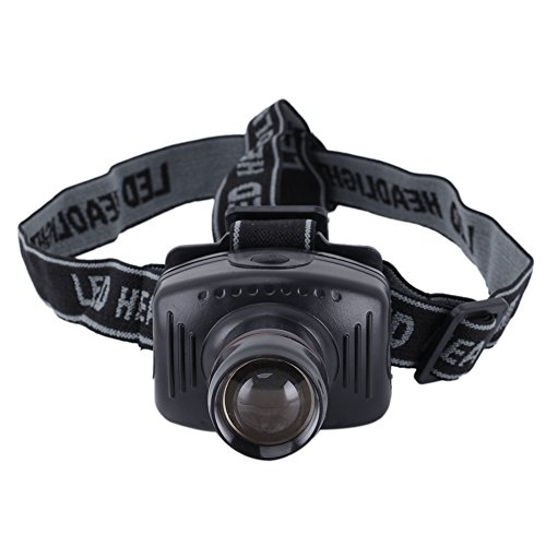 3W LED Headlamp Headlight Hiking Hunting Head Torch Lamp 160lm Waterproof
