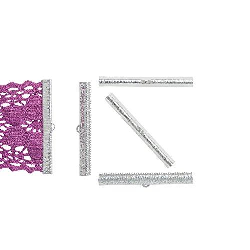 Embellishments Silver Bookmark (Twilight's Fancy 16pcs 50mm (2