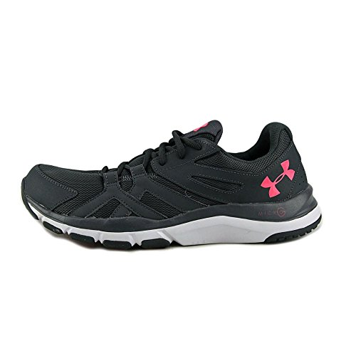 Sneaker Lace white pink Up Gray Chroma Running Micro Under Armour Womens Top Stealth Low wxPUX18Rq