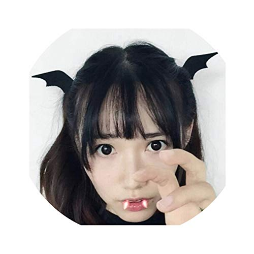 Girl Halloween Stereo Devil Hairgrips headband hairband Headwear Accessories Horns Ears Hairpins Barrettes Hair Head Bands Clip]()