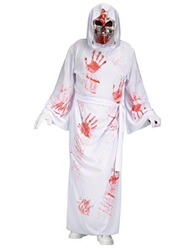 White Reaper Costume (Bleeding Bloody White Reaper Adult Costume (One Size))
