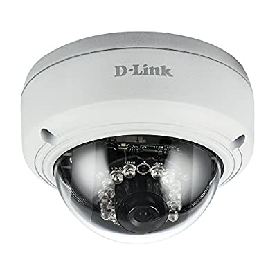 D-Link Vigilance Full-HD Dome Camera, White/Black (DCS-4602EV) by D-Link Systems, Inc.