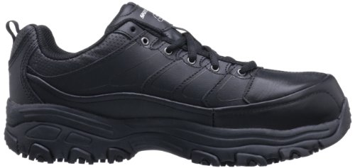 Skechers For Work Mujer 76485 Dlite Slip Resistant Slip Resistant Work Black