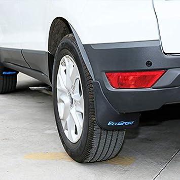 RASOME Parafanghi ABS Parafanghi Parafanghi Posteriori Anteriori Parafango per Ford Ecosport 2018-2020 Paraspruzzi Accessori Parti