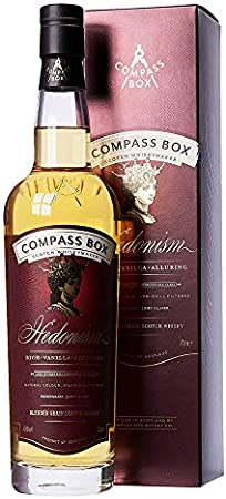 "Compass Box Whisky Blended Grain Whisky""Hedonism"", (1 x 700 ml), 1er Pack"