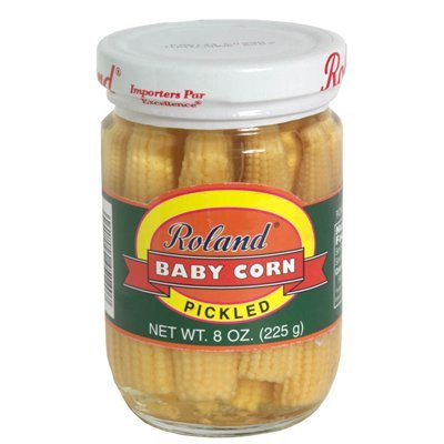 Rol and Baby Corn, Small, Pickled, 8-Ounce (Pack of 12)