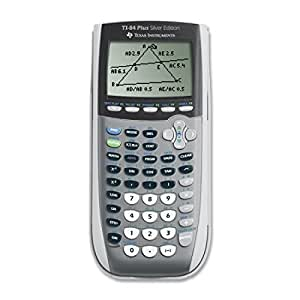 Texas Instruments - TI84PLUSSE - TI-84Plus Silver Programmable Graphing Calculator, 10- Digit LCD