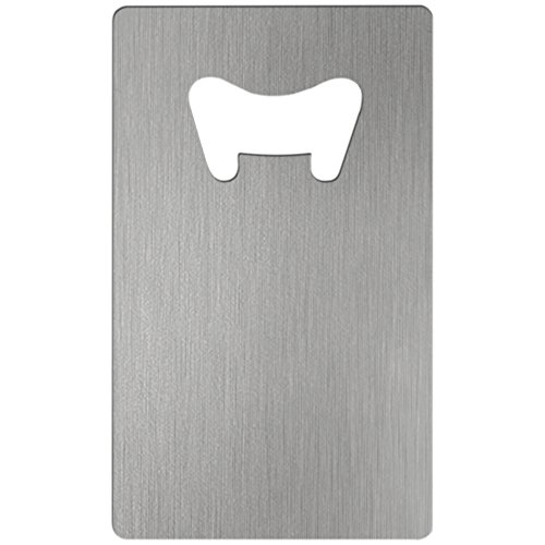 Credit Card Style Stainless Steel Bottle Openers 25 -
