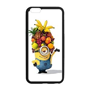 Despicable Me Minions Cute Cartoon Design Custom Cell Phone Case Cover For Apple iPhone 6 Plus 5.5
