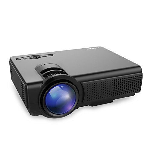 Tenker q5 led mini projector deals coupons reviews for Led pocket projector review