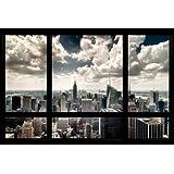 """New York Poster Skyline Window (36""""x24"""")"""
