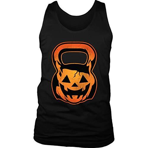 Pumpkin Kettle Bell WOD Crossfit Men's Tank -